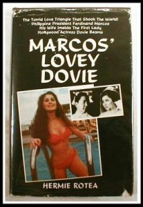 Shown is a cover of a book about Marcos' and Dovie Beams affair. Thanks, video48.blogspot.com