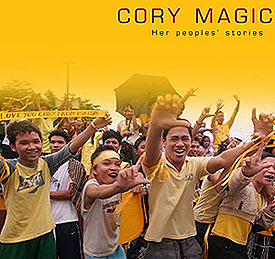 The book, Cory Magic: Her Peoples' Stories, remembers the former president and her funeral. (Picture from starmometer.com)