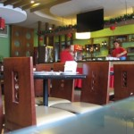 Interior of the Red Palace Seafood Restaurant along Malakas Street, Quezon City
