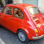 A restored Fiat 500 (taken in 2007)