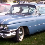 A 1959 Cadillac CoupeDeVille, which may be similar to the on Tom Waits drives. (Lars-Göran/Wikipedia.org)