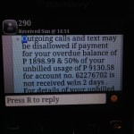 I went to Jakarta and all I got was an outrageous cellphone bill from Globe Telecommunications