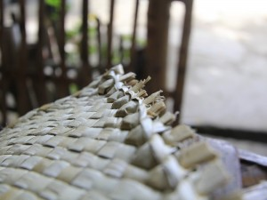 Edges of yoga mats made on Apo Island are specially designed, making them more flexible than regular mats. (AC Dimatatac)