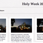 How I spent the Holy Week