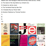 Ten books I can't finish reading